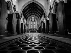 St Mary's Church, Wortham, Suffolk (2 of 4). (Explore) (+Pattycake+) Tags: stmaryschurch interior monochrome church blackandwhite lowpov moon bw wortham suffolk architecture inexplore explore