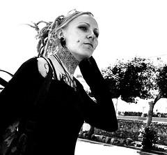Ink (Owen J Fitzpatrick) Tags: ojf people photography nikon fitzpatrick owen pretty pavement chasing d3100 ireland editorial use only ojfitzpatrick eire dublin republic city tamron candid joe candidphotography candidphoto unposed natural attractive beauty beautiful woman female lady j face hair along bw black white mono blackwhite blackandwhite monochrome blancoynegro pretoebranco dun laoghaire photoshoot street streetphoto dslr digital streetshooter eye contact lithe streetphotography blonde visage piercing fashion clothing attire tattoo portrait earring neck ink queens girl girls ladies irish dunlaoghaire pierced