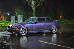 _MG_3452 (andreialta) Tags: bmw m3 night shoot e36 e36m3 technoviolet jdm advantc3 advanwheels yokohama yokohamawheels