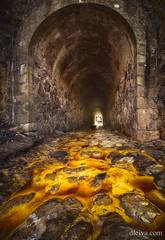 Nacimiento del Rio Tinto, Huelva, Andalucia, Spain (dleiva) Tags: riotinto minas rio huelva andalucia spain españa cauce amarillo dleiva domingoleiva