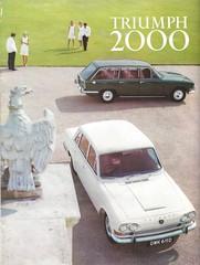 1969 Triumph 2000 (Hugo-90) Tags: 1969 triumph 2000 estate car saloon ads advertising brochure auto automobile