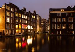 Amsterdam by night (paulbunt60) Tags: amsterdam lichtshow nederland lightshow nightphotography zeedijk cityview