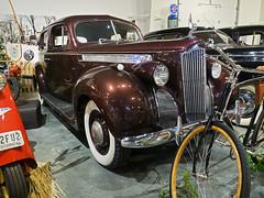 National Packard Museum 01-03-2019 81 - 1940 One-Ten Touring Sedan Model 1800 (David441491) Tags: car auto automobile nationalpackardmuseum 1940onetentouringsedanmodel1800
