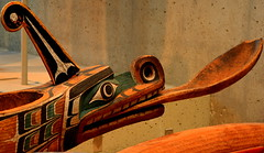 WEST COAST NATIVE ART, CARVED WOOD TOTEMS, UNIVERSITY UBC, VANCOUVER. BC. (vermillion$baby) Tags: nativeart art bowl carvng color firstnations mask red spoon westcoast wood artsculpture native pacificnorthwest artofnorthamerica artofnativenorthamerica museum carving sculpture woodcarving museums artofthenative nativeamerican indian gallery vivid aborigine