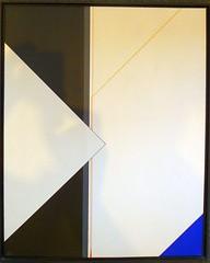 QUDRAT WEISS  2  1985 (HolgerArt) Tags: konstruktivismus gemälde kunst art acryl painting malerei farben abstrakt modern grafisch konstruktiv