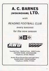 Reading vs Bristol City - 1989 - Page 15 (The Sky Strikers) Tags: reading bristol city the royal elm park littlewoods cup road to wembley matchday programme one pound